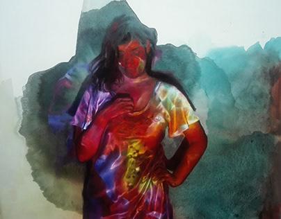 oil on canvas 100 x 92cm