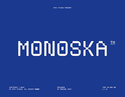 Monoska Typeface