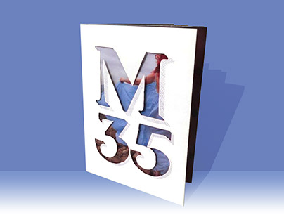 BRANDING CATALOGUE FOR M35 CLOTHING STORE