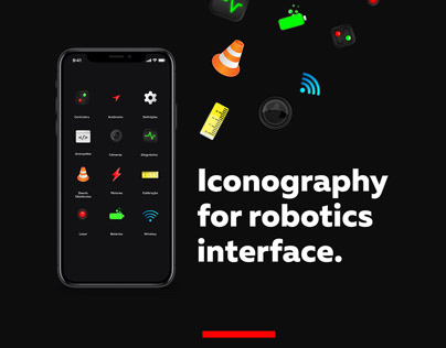 ICons for robotics interface