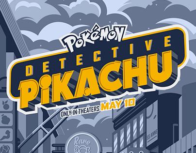 Poster Posse x POKÉMON Detective Pikachu (Official)