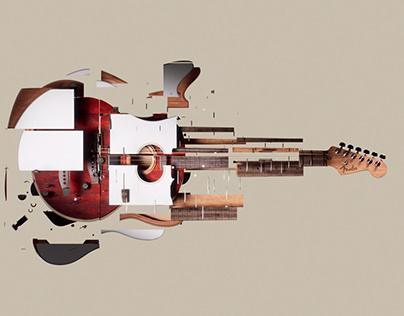 Fender - Acoustasonic Jazzmaster