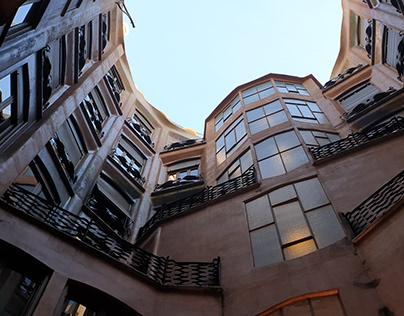 Architecture tape à l'oeil