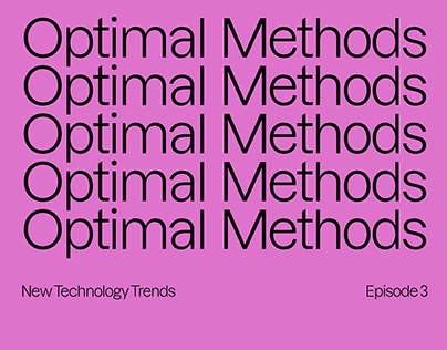 Optimal Methods identity