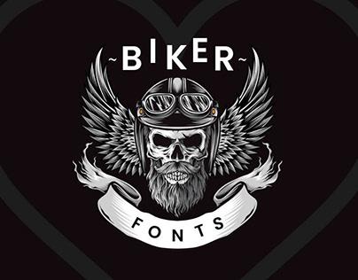 10+ Impressive Biker Fonts To Create Unique Design
