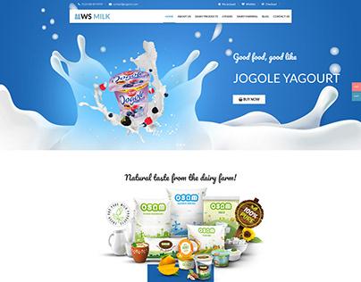 WS Milk – Dairy WooCommerce WordPress theme