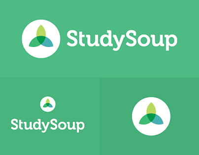 StudySoup Logo Designs on Green