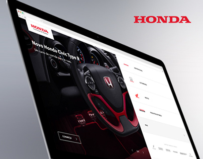 Honda - Website Redesign (Brazil)