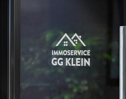 Immoservice GG Klein Logo Design