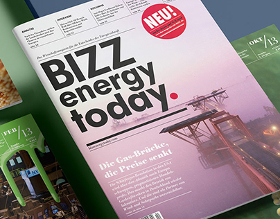 'BIZZ energy today.' Energy Magazine