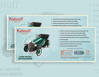 Kidstuff | Label Design | Graphic Design