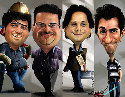 Caricature Characters
