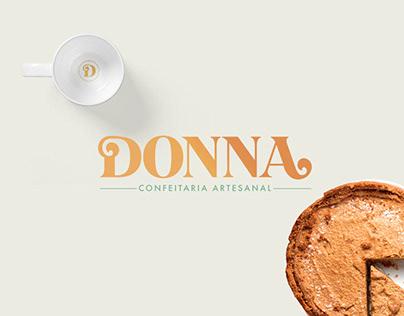 Branding | Donna Confeitaria Artesanal