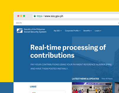 SSS Website Redesign Concept