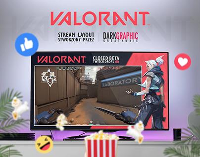 VALORANT - Stream Layout