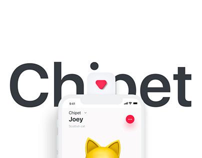 Chipet - concept ios app
