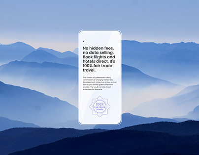 Interface for Glider — Travel Platform