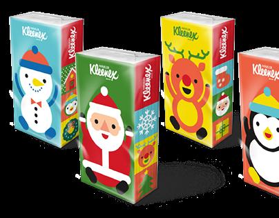 Navidad Kleenex