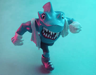 Street Sharks 90's Toy Animation