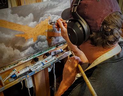 Oil Painting - PT-22 Ryan Recruit