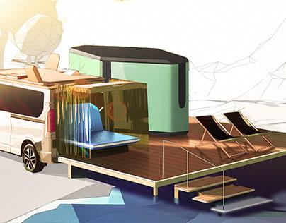 Renault Hippie Caviar Van concept [2021]
