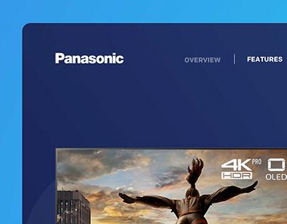 Panasonic OLED TV Product Page