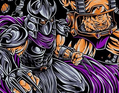 Shredder & Krang- Dr. Horror