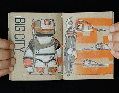 Big City Concept Book