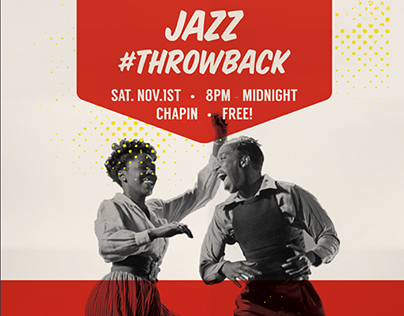 """Jazz Throwback"" Poster Design"