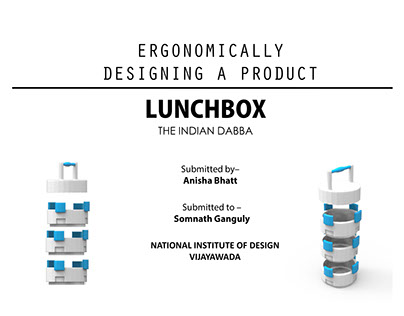 THE INDIAN DABBA - ergonomically designing a product