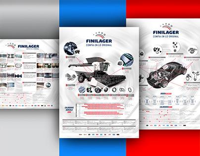 Calendario afiche / Poster calendar