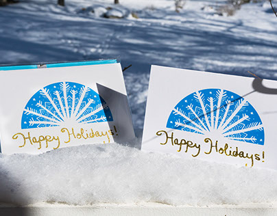 Happy Holidays! Hand-made Cards
