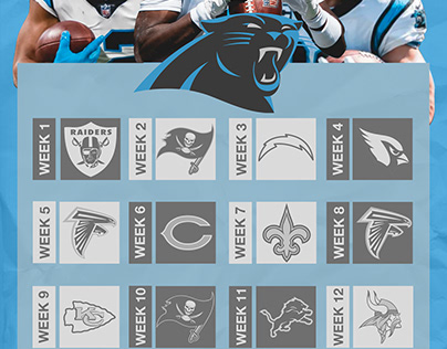 Panthers Mock Schedule