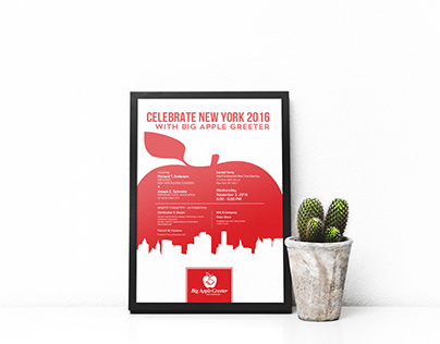Poster for Big Apple Greeter November's Party