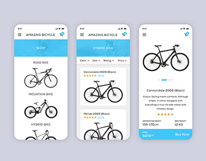 Amazing Bicycle App
