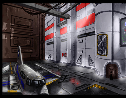 Base Hangar Colored