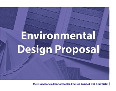 Environmental Design Proposal (Student Work)