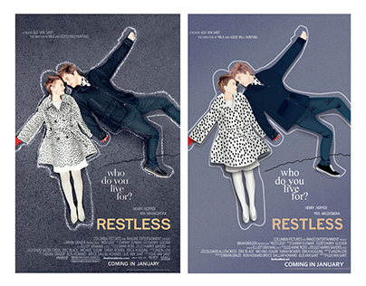 Vectorize Restless Movie Cover