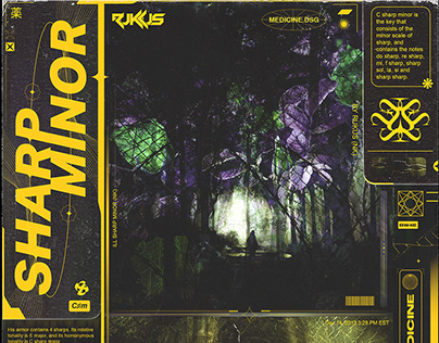 Sharp Minor Poster/Cover