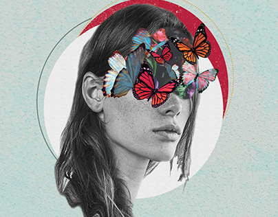 Butterflies in your mind | Animated Collage