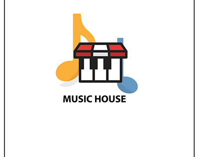 Music Shop Logo Design