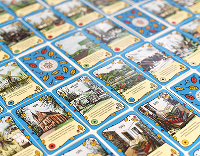 Zbuczyn 1418-2018 - identification and board game.