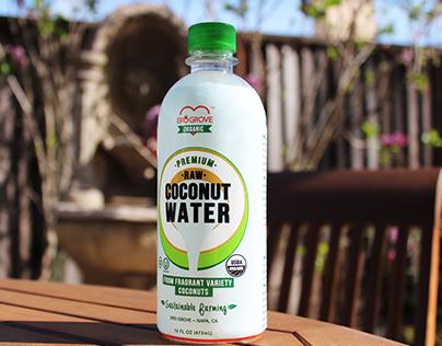 Logo, Package, Art Direction - Ero Grove Coconut Water