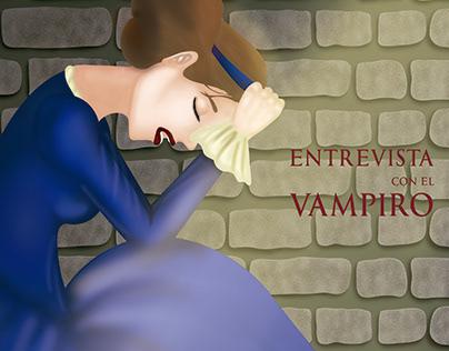 Entrevista con el vampiro/Diseño Editorial Ilustración