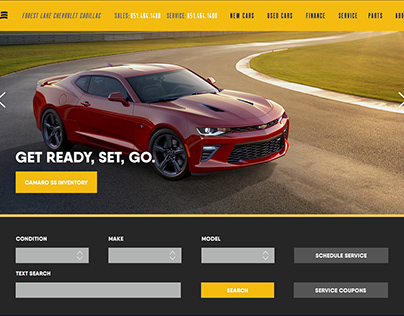 Forest Lake Chevrolet Redesign