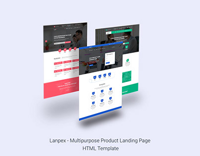 Ledx - Lead Generation Landing Page HTML Template