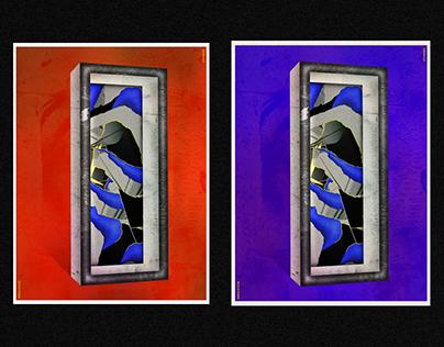 PSYCHIC DOOR // Poster