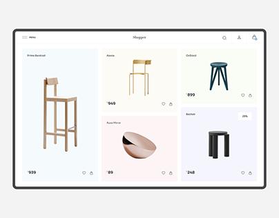 Shopper Furniture eCommerce