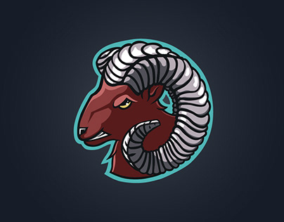 Ram Mascot Logo