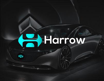 Harrow Logo Design-H+Arrow Logo